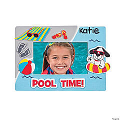 Pool Time Photo Frame Magnet Craft Kit