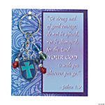 Religious Shield Key Chain with Card Craft Kit