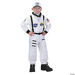 Astronaut Suit White Costume for Kids
