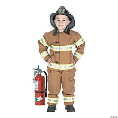 Fire Fighter Kid's Costume