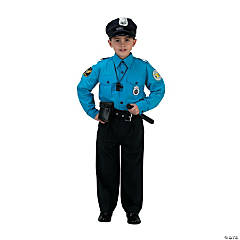 Police Uniform Kid's Costume