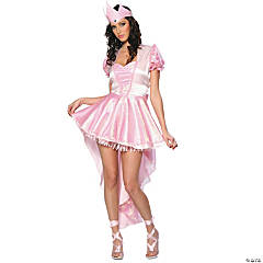 Glinda Ballerina Witch Adult Women's Costume