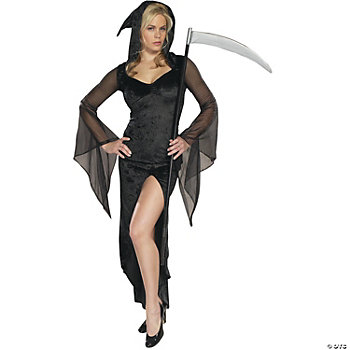 Grim Reaper Sexy Adult Women's Costume