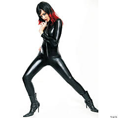 Black Catsuit Costume for Women
