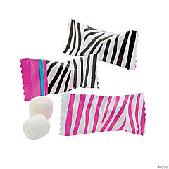 Bright Zebra Print Buttermints