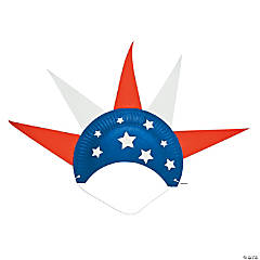 Paper Plate Patriotic Hat Craft Kit