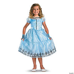 Alice Blue Dress Deluxe Girl's Costume