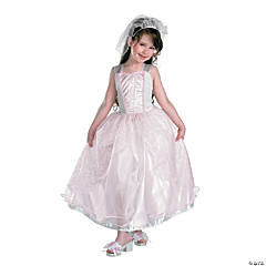 Barbie My Wedding Day Bride Costume for Girls