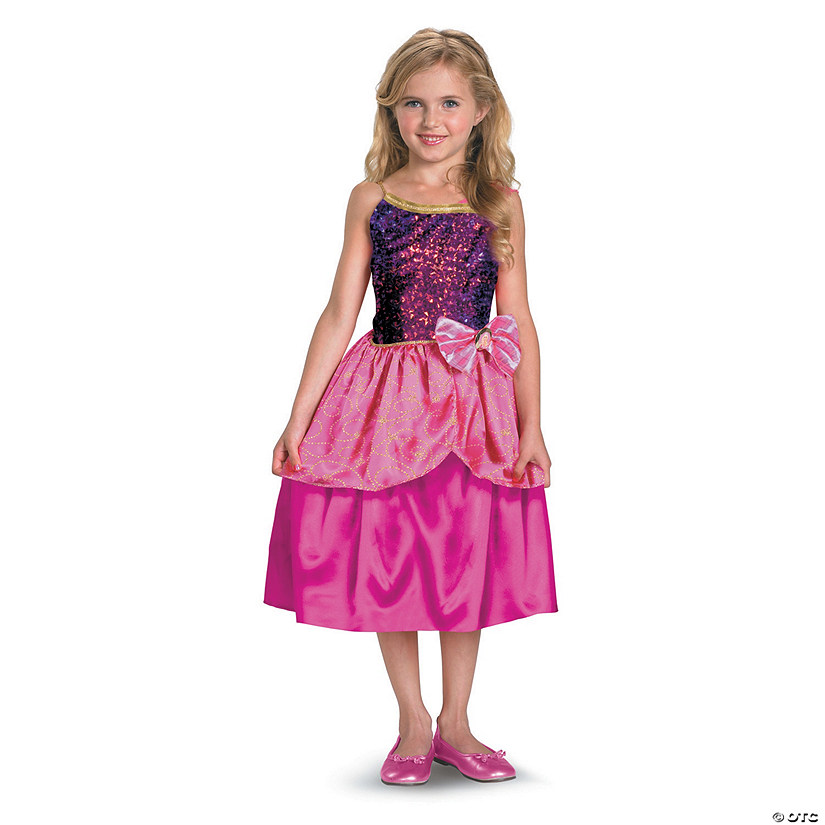Barbie Princess Charm School Girlu0026#8217;s Costume  sc 1 st  Oriental Trading : barbie princess charm school costume  - Germanpascual.Com