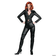 Deluxe Adult Woman's The Avengers™ Black Widow Costume
