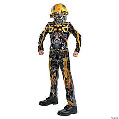 Boy's Classic Bumblebee Transformers Costume