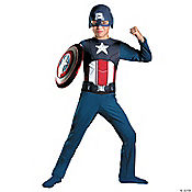 The Avengers™ Captain America Basic Boy's Costume