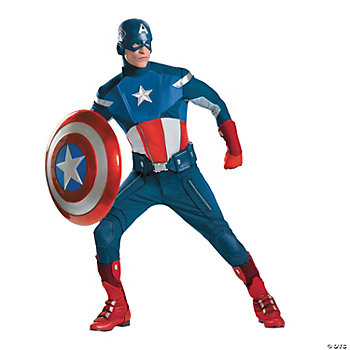 The Avengers™ Captain America Theatrical Adult Men's Costume