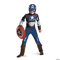 Captain America Classic Costume for Toddlers