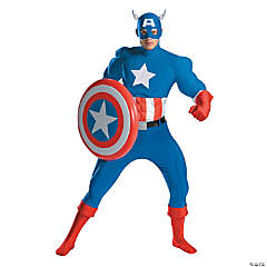 Rental Quality Captain America Costume for Men