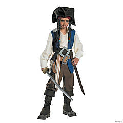 Captain Jack Sparrow Standard Boy's Costume