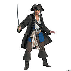 Captain Jack Sparrow Prestige Men's Costume