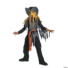 Pirates of the Caribbean Davey Jones Boy's Costume