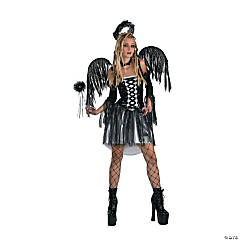 Sexy Fallen Angel Deluxe Adult Women's Costume