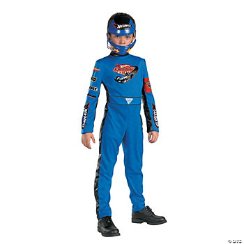 Hot Wheels Quality Boy's Costume