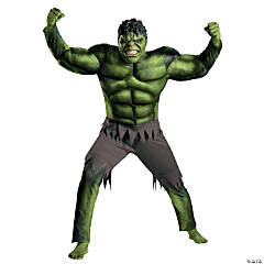 Adult Men's The Avengers™ Hulk Classic Muscle Costume