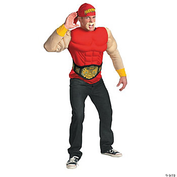 Hulk Hogan Muscle Adult Men's Costume