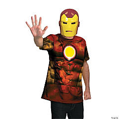 Adult Man's Alternative Iron Man Costume
