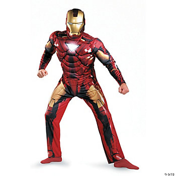 Iron Man Classic Muscle Mark 6 Adult Men's Costume