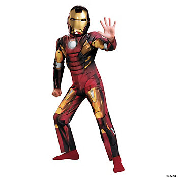 The Avengers™ Iron Man Mark 7 Basic Boy's Costume