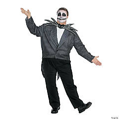 Jack Nightmare Before Christmas Plus Size Adult Men's Costume
