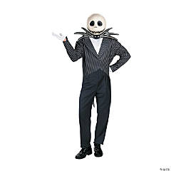 Jack Skellington Deluxe Adult Men's Costume
