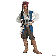 Pirates Of The Caribbean Jack Sparrow Quality Boy's Costume