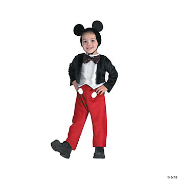 Mickey Mouse Deluxe Boy's Costume