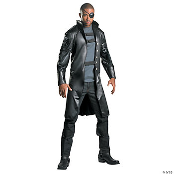 Nick Fury Avengers Deluxe Adult Men's Costume