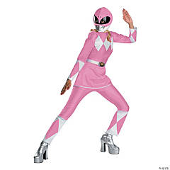 Power Ranger Pink Adult Women's Costume