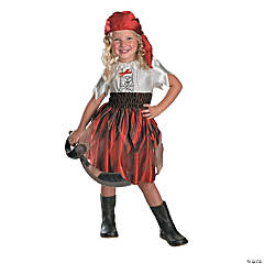 Swashbuckler Girl's Pirate Costume