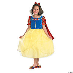 Snow White Deluxe Costume for Girls