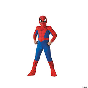 Spider-Man Deluxe Comic Boy's Costume