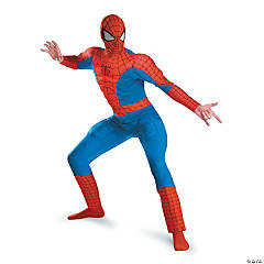 Deluxe Muscle Spiderman Costume for Men