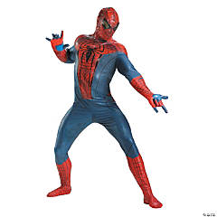 Adult Man's Theatrical Spiderman Costume