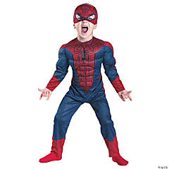 Spider-Man Movie Muscle Toddler's Costume