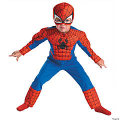 Muscle Spiderman Costume for Toddlers - 2T