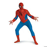 Standard Adult Man's Spiderman Costume