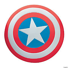 Deluxe Metal Captain America Shield for Adults