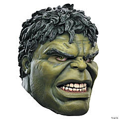 Hulk Avengers Latex Deluxe Mask