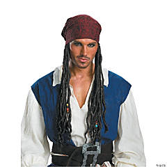 Jack Sparrow Headband With Hair