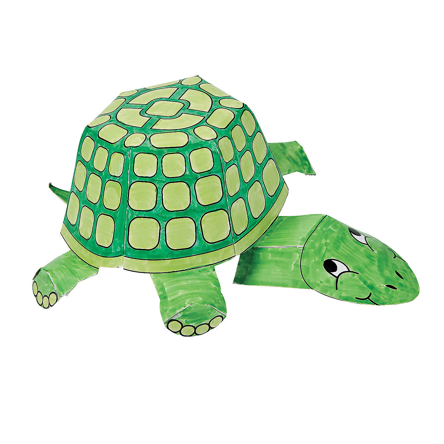 Color Your Own 3D Turtles, Coloring Crafts, Crafts for ... - photo#11