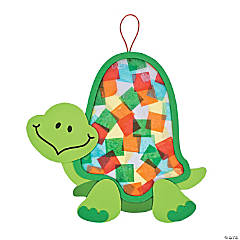 Colorful Turtle Tissue Paper Craft Kit