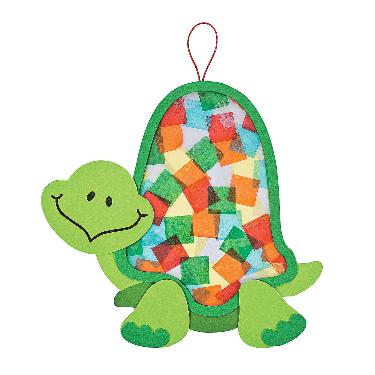 Colorful Turtle Tissue Paper Craft Kit, Decoration Crafts ...