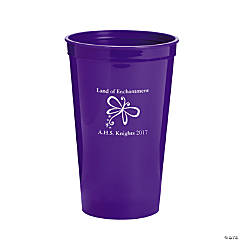 Purple Personalized Enchantment Tumblers